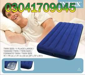 Intex Air Bed adult, so do a regular check on the connection points to
