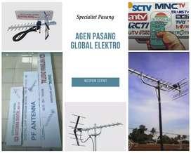 Instalasi Pemasangan Sinyal Antena Tv Taktakan