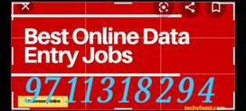 Real online part time job data typing