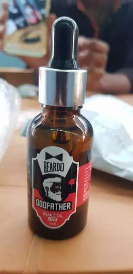 Beard oil .. sealed peace