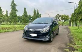 Toyota Agya TRD S 1.2 MT 2017 / 2018 Manual Hitam,NO PR 2019