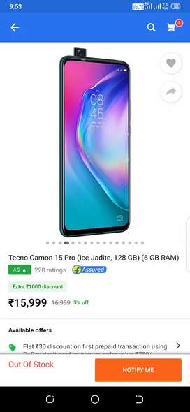 Techno 15 PRO 6GB 128GB