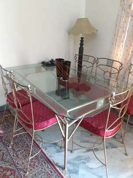 Dining table for six people
