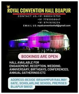Welcome to royal convention hall bijapur