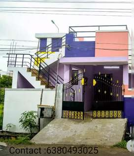Independent house for sale at Crawford-Anbu nagar main road.