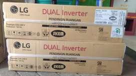 AC LG 1/2 pk dual inverter t06ev4 plus pasang & material bisa KREDIT