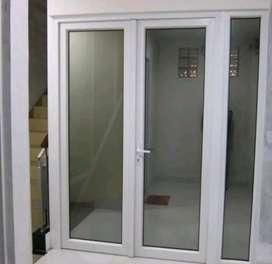 Kusen aluminium desai rumah minimalis
