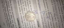 20 paisa .. OLD coin sliver..