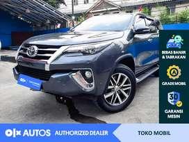 [OLXAutos] Toyota Fortuner VRZ 2017 2.4 A/T Diesel Abu-abu #Toko Mobil