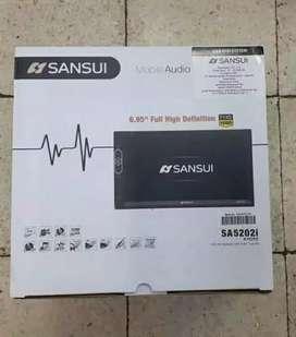 DOUBLE DIN SANSUI SA-5202I, cocok di mobil suv dan mpv