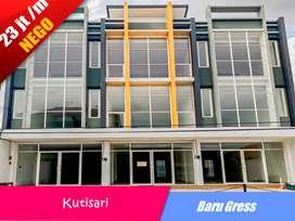 Ready 2 Unit Ruko 3 Lantai Baru Gress Lokasi Strategis di Jl. Kutisari