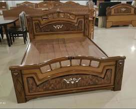WOODEN COT FACTORY SALE WITH EMI FACILITY