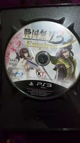 KASET PS3 SAMURAI WARRIOR EMPIRES 3 ORIGINAL