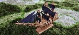 Miniatur ; diecast ; crafting kapal