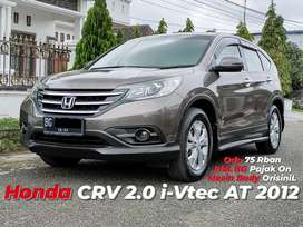 Honda CRV i-vtec 2.0 AT 2012 / 2013 #fortuner trd #pajero dakar