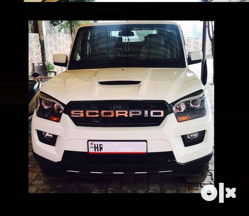 Mahindra Scorpio S10, 2017, Diesel 0