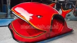 Sepeda Air Model Hiu Perahu Fiber Dewasa