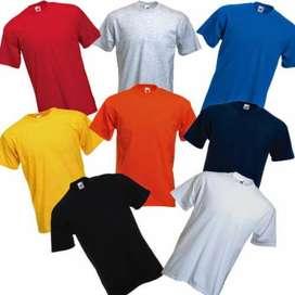 Kaos Polos Asli Cotton Combed 30s 100% Premium Soft Adem