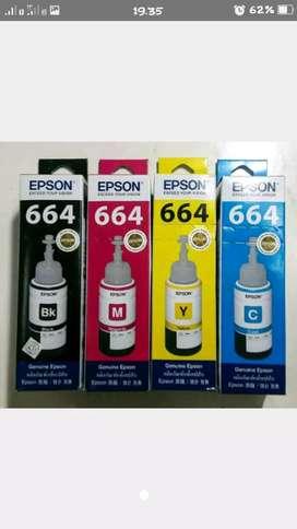 Tinta epson 664 series ori