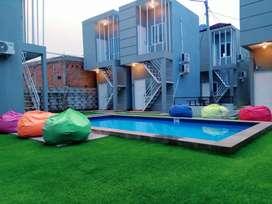Guesthouse dengan Kolam Renang Dekat IPB dan RS Medika Dramaga