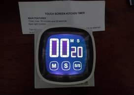 Kitchen touch Screen TIMER  With Big Display