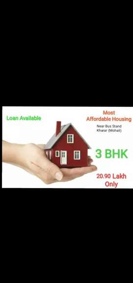 3 BHK Flats Ready To Move,95 Loan Available, 2.67 Lac Benefit PAMY