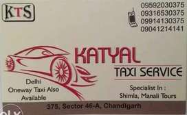 Taxi cabs from tricity to all over india