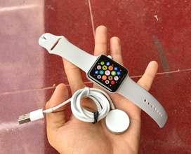 Apple Watch Seri 3 42mm GPS + Celluler 4G LTE Mulus Seri Tertinggi