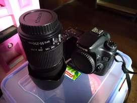 Canon 70D WiFi lensa 55/250