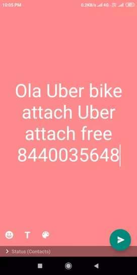 ola uber bike attach uber free