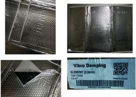 Peredam Alumunium Vibro Damping Elemant Made in Rusia