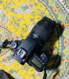 Canon 90D with lens