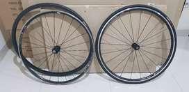Wheel set Dt swiss R460 untuk Road bike