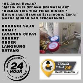 Service AC Tidak Dingin Servis Mesin Cuci Kulkas Sangkapura Gresik