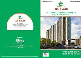 LOK AWAS FLATS IN MOHALI ON 200 FT AIRPORT ROAD