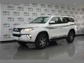 Brand new car fortuner in lowest down payment