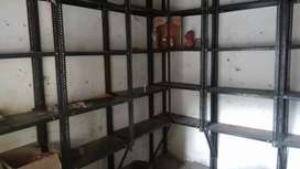 Good condition shop racks