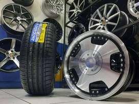 Paket velg ban untuk Agya Brio March City HSR DH R15 Ban Accelera PHI
