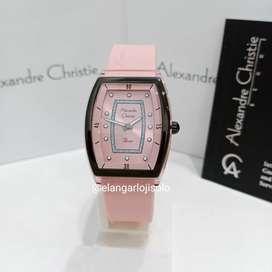 Jam Tangan Alexandre Christie AC 2847 Pink