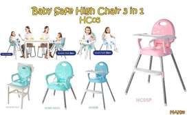 Baby safe high Chair 3in1