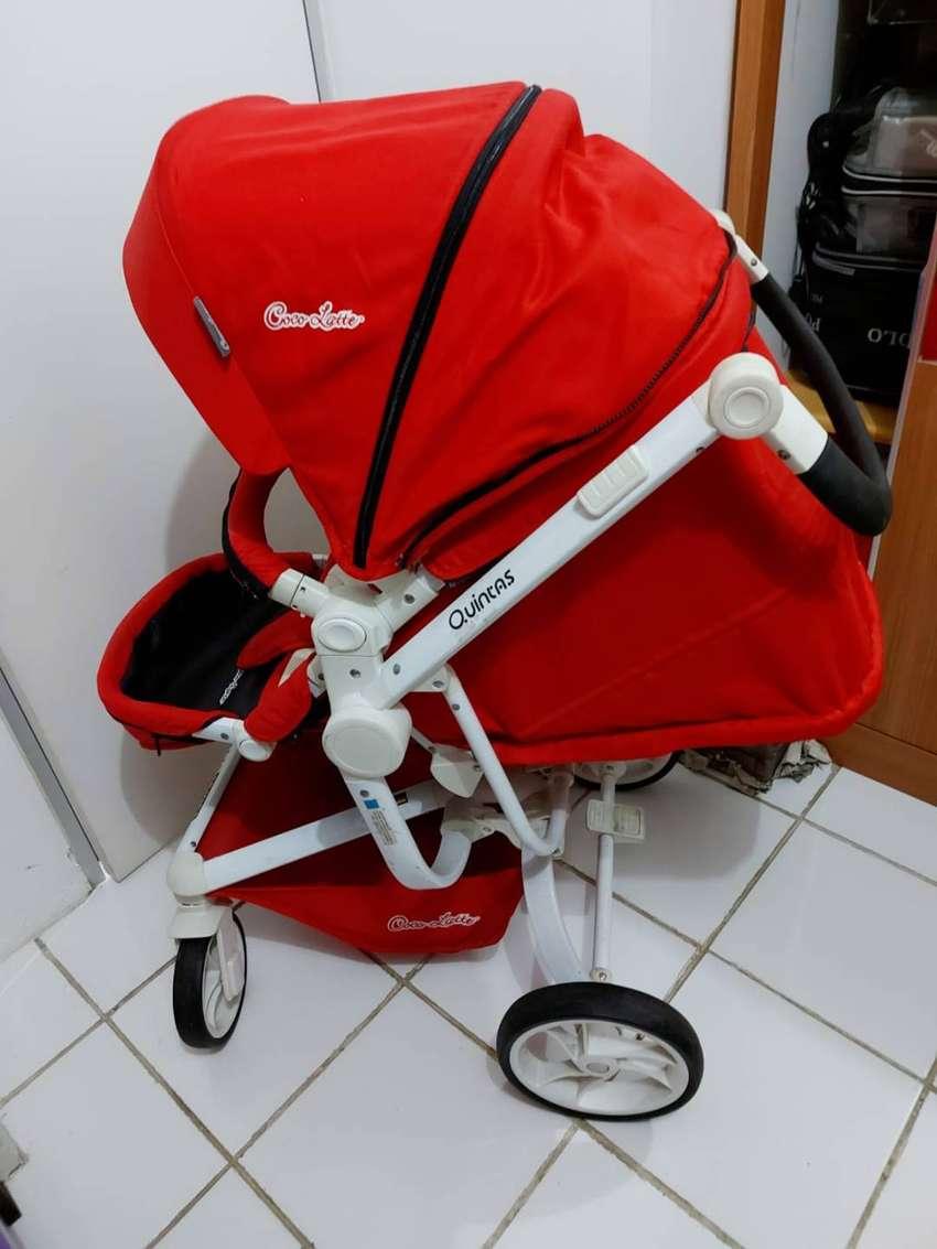 Stroller Quintas Cocolatte BNS Series Red Bagus Bekas