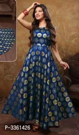 New arrival lovley jacquard Gowns spoon body shape inspired kareena K.