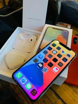 Iphone x 256gb fulset all operator