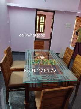Dining table with 4 chair =22000