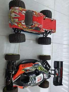 RC engine mini buggy & habaw 2 unit spek sesuai pic