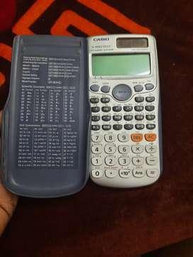 Casio, scientific calculator fresh condition