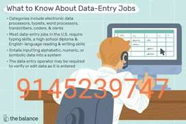 Here we have online data entry job for you, work from home!!