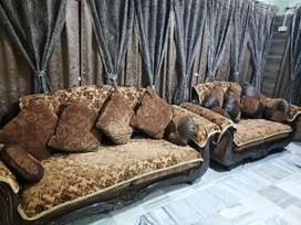 Durian's Sofa Set (1+2+3 seater) + Centre table