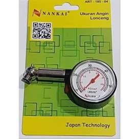 HS Alat tester pengukur tekanan angin ban Tire Pressure Gauge Nankai