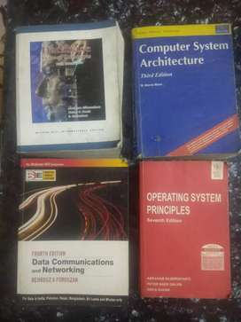 Operating system and data communication books on 1/3 price,individual
